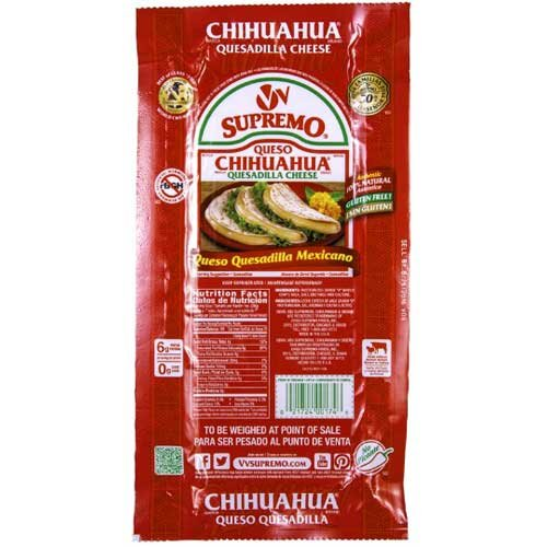 VV Supremo Queso Chihuahua Cheese, 5.6 Pound -- 8 per case. by VV Supremo