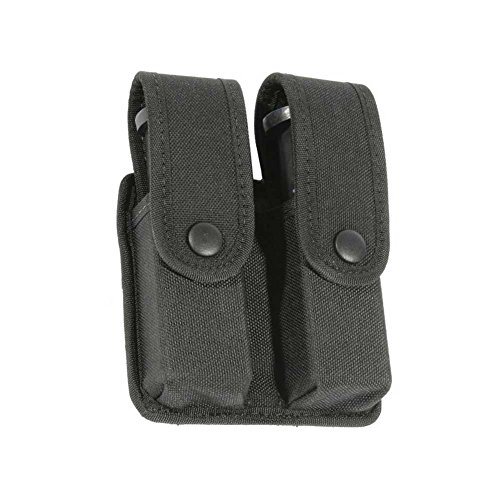 BLACKHAWK! Traditional Black CORDURA Divided Double Mag Case - Double Row -