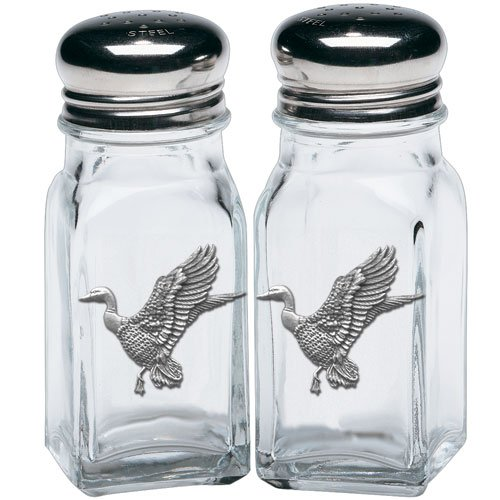(Heritage Pewter Mallard Ducks Salt & Pepper Shakers)