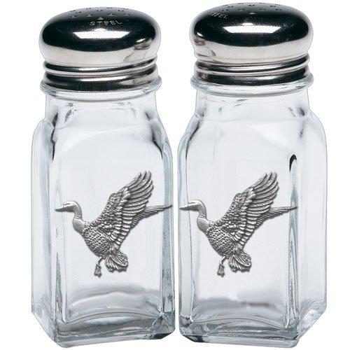 (Heritage Pewter Mallard Ducks Salt & Pepper Shakers)