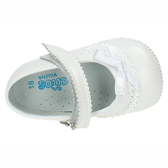 CITOS 1705 Zapatitos DE Piel NIÑA Bebes: Amazon.es: Zapatos ...