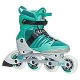 K2 Skate Women's Alexis 84 Pro Inline Skate, Green White, 6.5