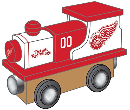 NHL Detroit Red Wings Masterpiece Toy Train, Black, One Size