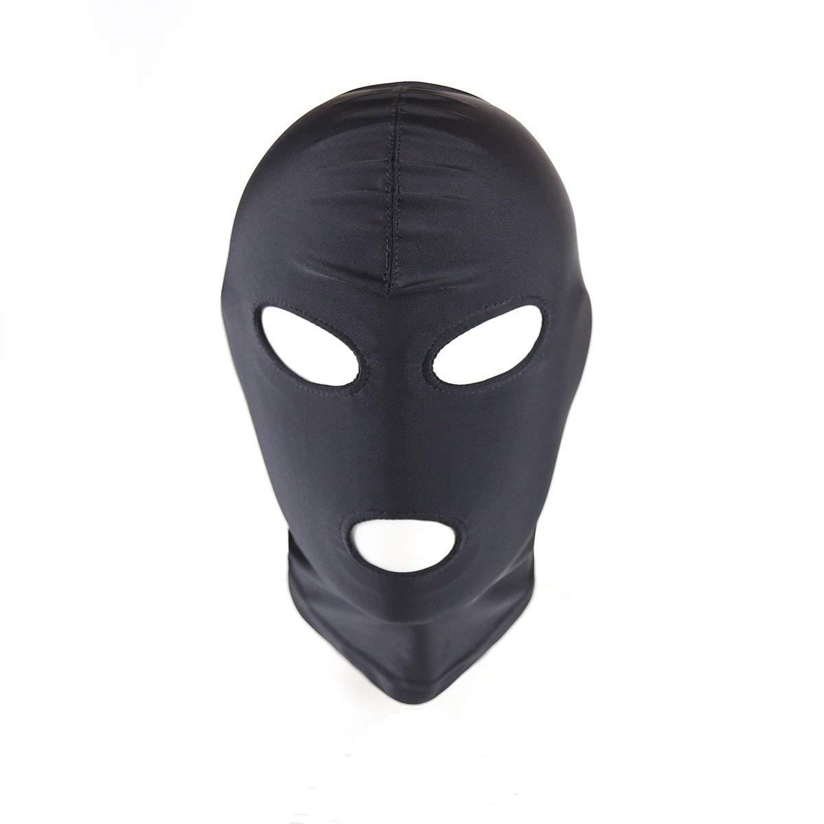 Amazon.com: Máscara de licra de licra para disfraz de Zentai ...