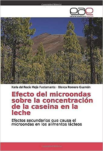 Efecto del microondas sobre la concentración de la caseina ...