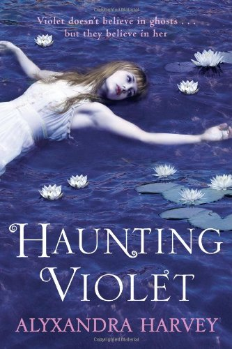 Book cover for Haunting Violet