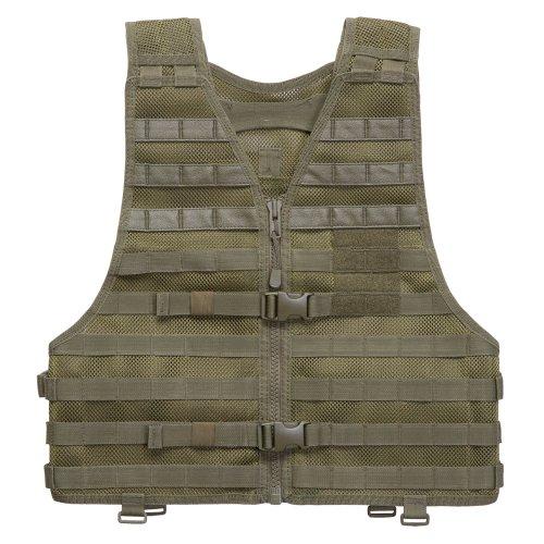 Tactical Nylon 5.11 Vest (5.11 LBE Vest, Tactical OD, Regular)
