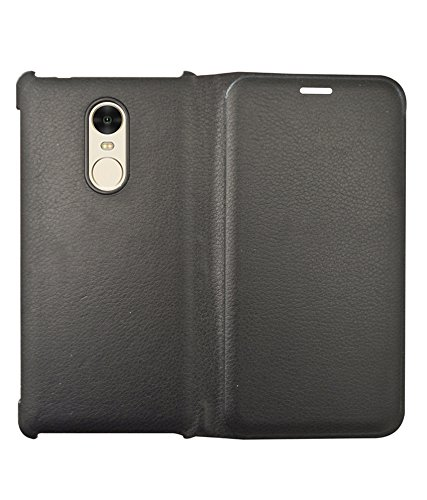COVERNEW Flip Cover for Xiaomi Redmi Note 4   Black Mobile Phone Cases   Covers