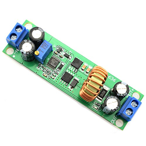 DZS Elec DC-DC 6.5V-60V to 1.25V-30V Buck Voltage Regulator Synchronous Rectification Power Converter Module Adjustable 60V/48V/36V/24V/12V to 19V/12V/9V/5V/3V Step-Down ()