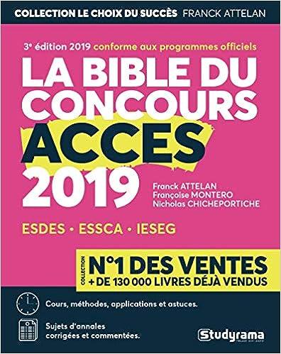 La bible du concours Accès