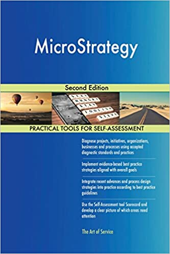 Microstrategy Second Edition Gerardus Blokdyk 9780655187561