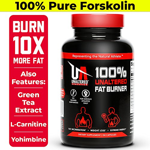 UNALTERED Fat Burner, Natural Weight Loss Pills With Pure Forskolin Extract by UNALTERED
