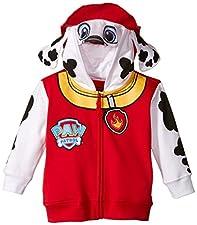 Paw Patrol Boys' Zip-Up Costume Hoodie