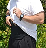 Belly Band / Fanny Pack Holster Hybrid for Runners, Hikers, Bikers, Boaters, and More - The Preclusion F.P.A. Holster (Fanny Pack Athletic)