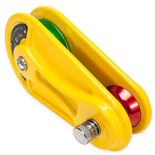 Pulley Block for 3/4'' Rope- Yellow in color by Knot & Rope