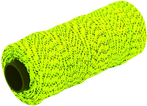 MARSHALLTOWN The Premier Line ML613 Mason's Line 500-Foot Neon Green Bonded & Braided Nylon by MARSHALLTOWN The Premier Line