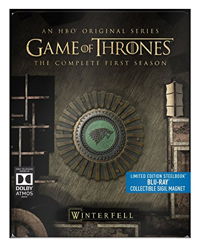 Game of Thrones - Season 1 - Limited Edition Steelbook with Collectible Magnet [Blu Ray] ()