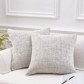 Amazon.com: Ashler Corduroy Soft Velvet Striped Solid Square ...