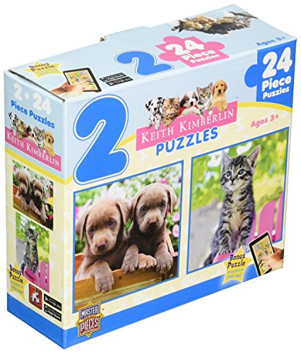 Masterpieces Perfect Pals Puzzle (2-Pack)