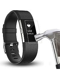 Screen Protector, ABC 5PC HD Film Intelligent LCD Protective Screen Protector for Fitbit Charge 2