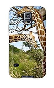 Awesome FLd-36vxqWbmPP DeaneRipman Defender Tpu Hard Case Cover For Galaxy S5- Giraffe Pair
