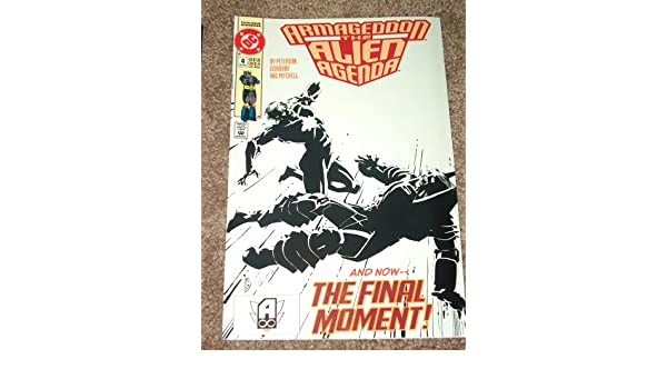 Armageddon:The Alien Agenda #4 (Feb. 92): Jonathan Peterson ...