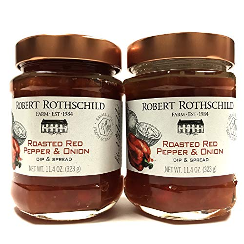 Robert Rothschild Farm - Roasted Red Pepper & Onion Dip & Spread Sauce, 11.4 oz | Pack of 2