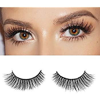 8d2c436cb8d Milanté BEAUTY Chaotic Real Mink False Lashes Black Natural Thick Long Full  Reusable Fake Strip Eyelashes
