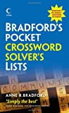 Collins Bradford's Pocket Crossword Solver's Lists (Dictionary)