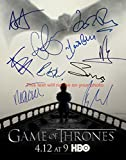 Game of thrones Autographed 11x14 Poster Photo