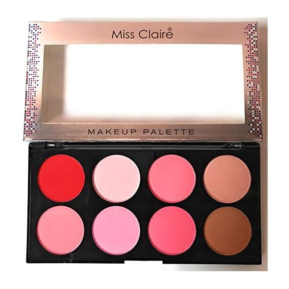 Miss Claire Miss Claire Makeup Palette 4, Multi, 16 Grams, Multicolor, 16 g