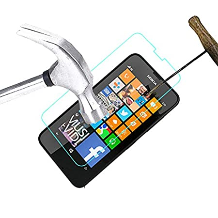 ACM Tempered Glass Screenguard for Nokia Lumia 630 Mobile Premium Screen Guard Anti Scratch Proof Protector Screen guards