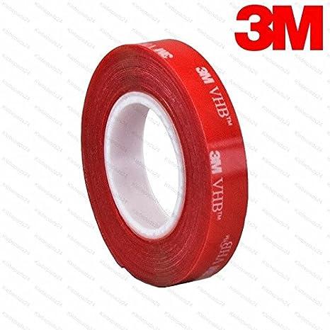3M VHB 4910 F | Banda adhesiva de doble cara, transparente, 1 mm de