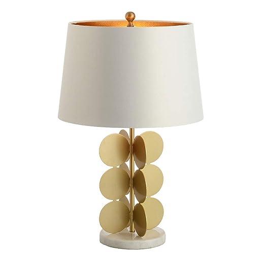 Lámpara de Mesita de Noche Minimalista Americana Moderna, Pantalla ...