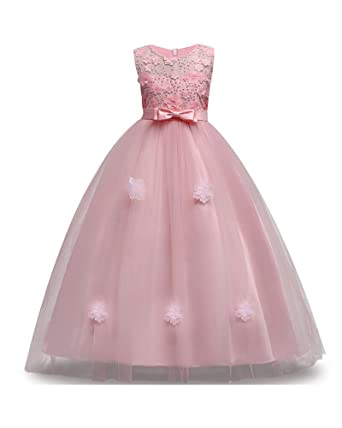 5c447812d3aa2 Big Girl Dress Size 6 8 Years 10T Formal Special Occasion Wedding Party  Birthday Princess Teen