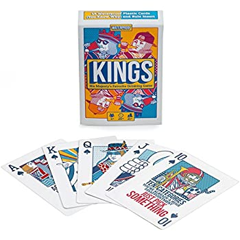 kings drinking game playing cards waterproof custom plastic cards with instructions on the cards - Custom Plastic Cards