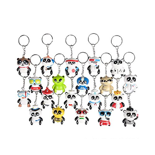 1.5'' Collectable Panda Keychain (20Pc/Un) by Bargain World
