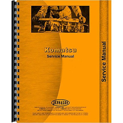 Service Manual Komatsu D20 D21 Series Diesel Crawler  60001   Up  Chassis Only