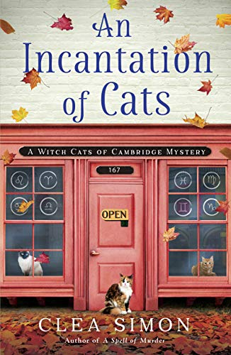 An Incantation of Cats: A Witch Cats of Cambridge Mystery by [Simon, Clea]