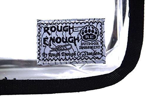 ROUGH ENOUGH - Cartera de mano con asa para mujer camuflaje Camo Piping, negro (negro) - RE8321 negro