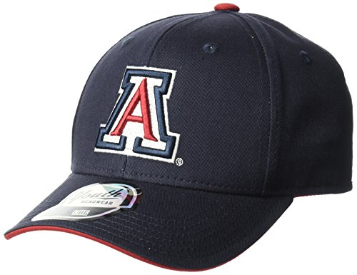 NCAA by Outerstuff NCAA Arizona Wildcats Kids & Youth Boys Basic Structured Adjustable Hat, Dark Navy, Youth One Size -