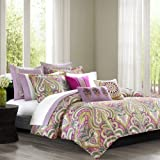 Echo Vineyard Paisley Duvet Cover Set, Twin, Multi by ECHO