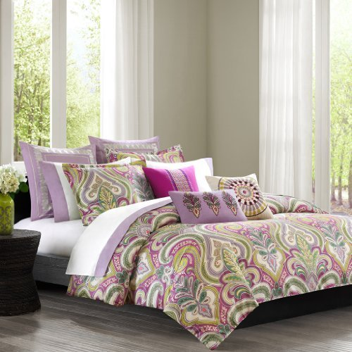 Echo Vineyard Paisley Duvet Cover Set, Twin, Multi by ECHO by Echo