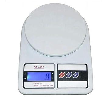 ZHANGYUGE Báscula de joyería Digital electrónica gram Medición Pantalla LCD Balanza de Cocina Dieta Laboratorio Caja de Venta minorista de Alimentos ...
