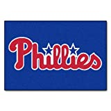 FANMATS MLB Philadelphia Phillies Nylon Face Starter Rug