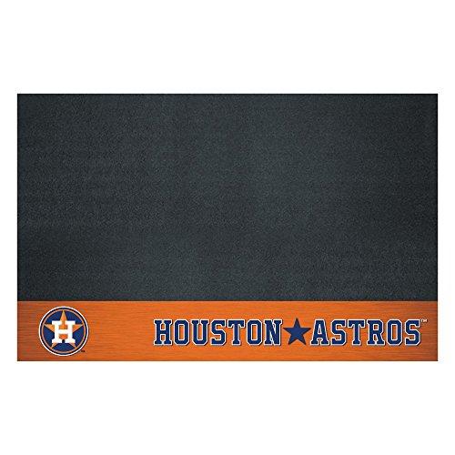Rug Astros Mat Baseball Houston (FANMATS MLB Houston Astros Vinyl Grill Mat)