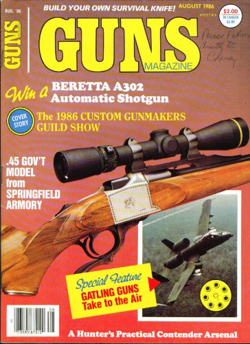 GUNS Gatling in the air BAR 7mm Mag H&R 25 Jay McCament ++ 8 1986