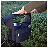 Dianli Children's Trolley Hanging Bags Storage Bags, Cup Holders Extra-Large Storage Bag Baby Shower Stroller Bags, Mum Trolley Bottle Bags Organizers