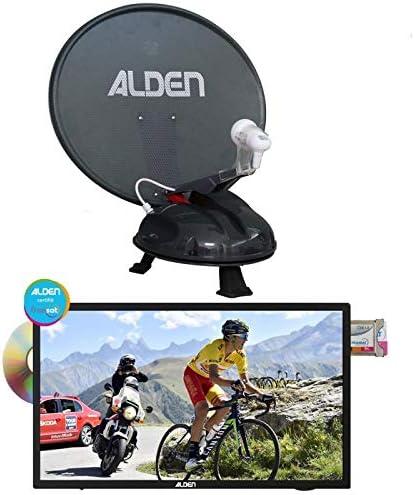Alden vansat 60 antena Satellite automático portátil + TV AIO ...