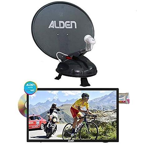 Alden vansat 60 antena Satellite automático portátil + TV ...